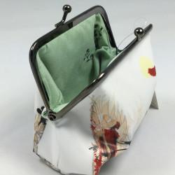 "carte postale ""fleurs noir..."